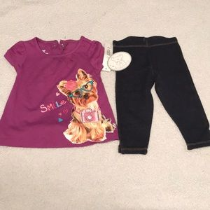 Bundle Baby 2 piece shirt and pants set!